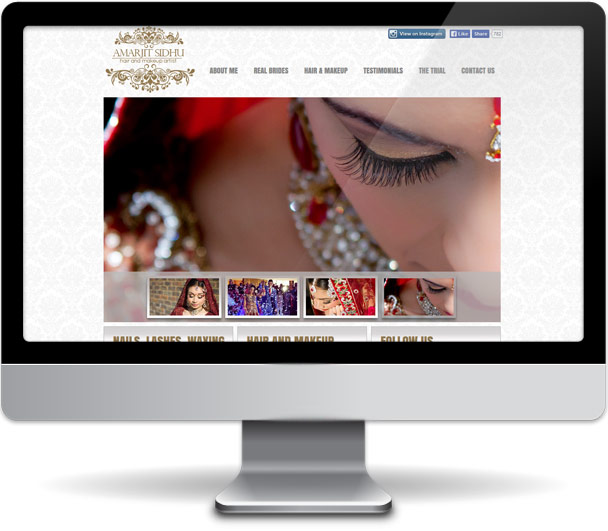 Amarjit Sidhu Hair and Makeup Artistte