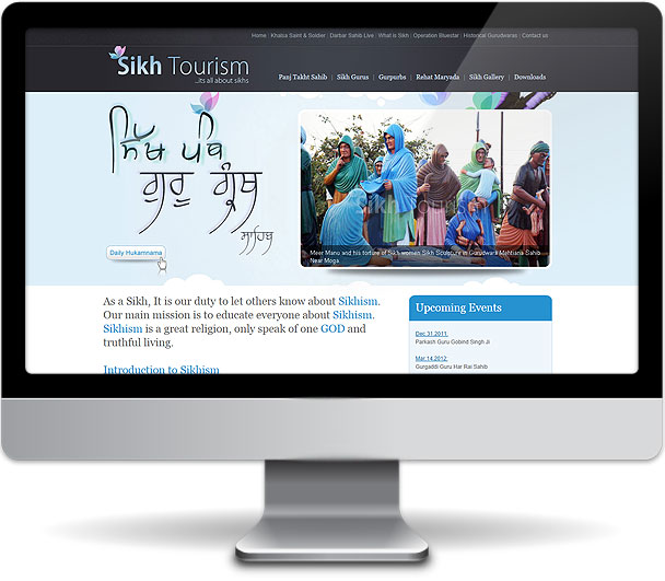 Sikh Tourism Website