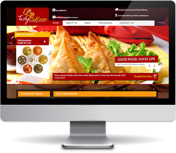 Tasty Platform Website